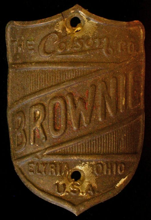 colson brownie headbadge 1