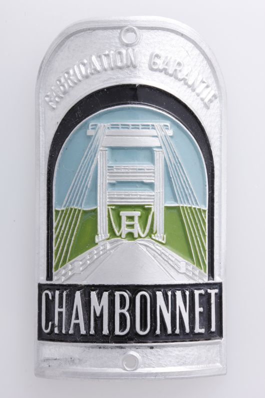 chambonnet headbadge 1
