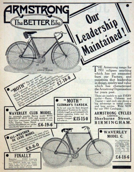 armstrong ad 1931