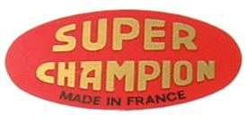 super champion decal