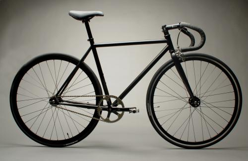 mission bicycles black
