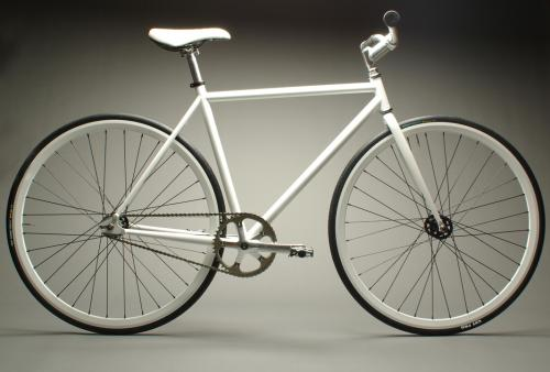 mission bicycles white