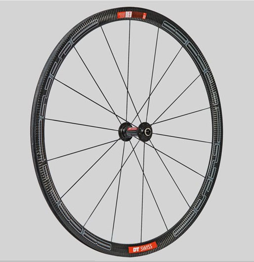 dt swiss rrc 1250 front carbon wheel