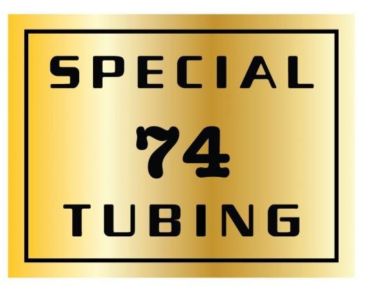 centurion 74 tubing seat tube decal
