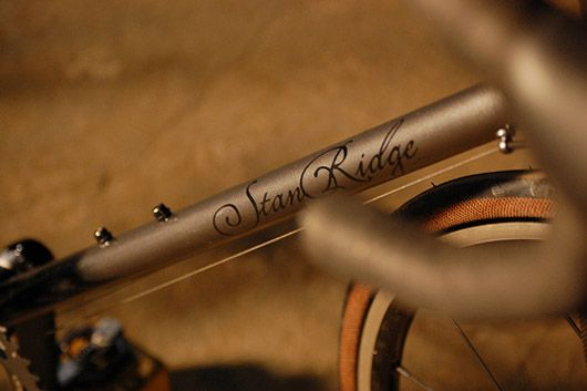 stan ridge downtube
