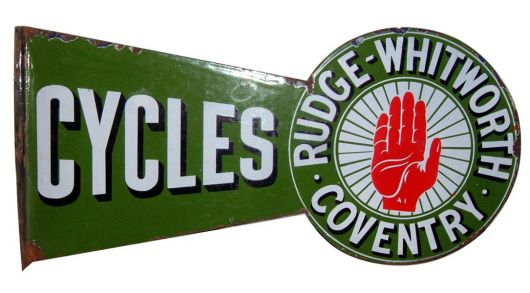rudge cycles sign