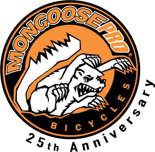 mongoose 25th badge