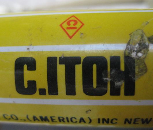 c itoh us 2 tube decal