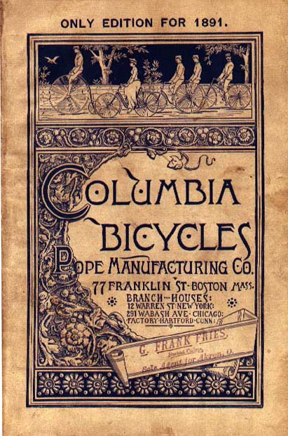 columbia brochure cover 1891